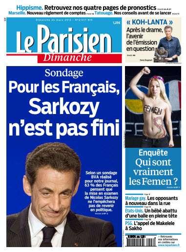 Le Parisien dimanche 24 Mars 2013