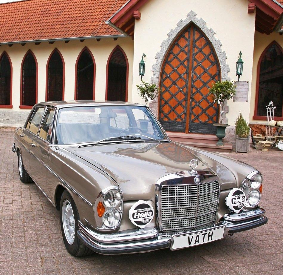 Special cars  Mercedes Benz  W109  300 SEL 6