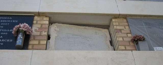 desalojo de nichos