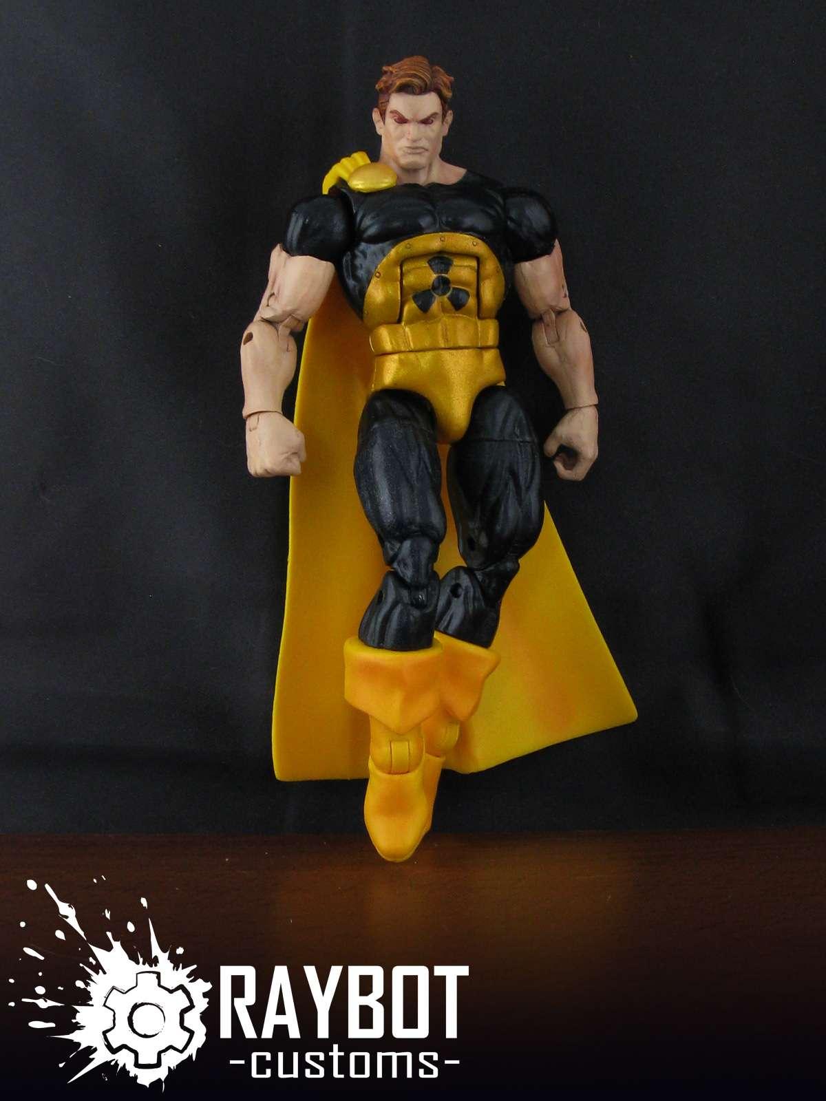 Raybot Wasp Wonder Man Nightcrawler Kitty P157 158
